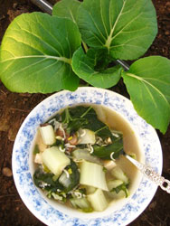 Chinese-Greens-Soup