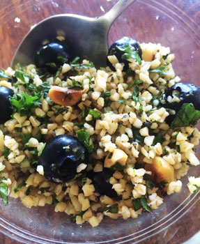 Blueberry-Tabouli