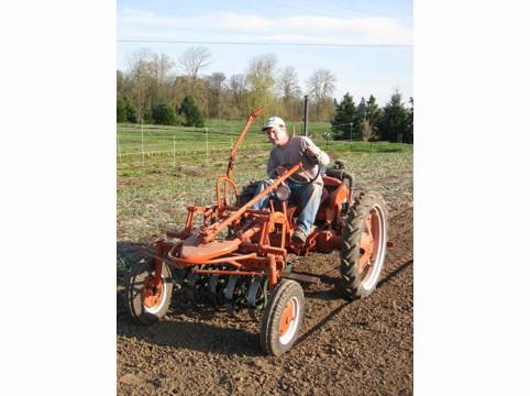 Matt-on-Tractor